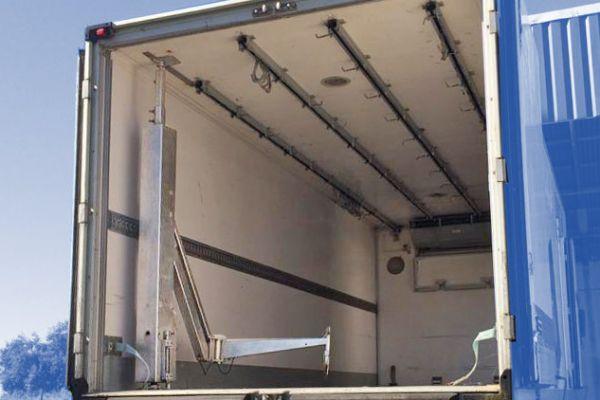 Brazo de carga para camiones